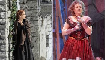 Elīna Garanča un Marina Rebeka tiešraidē no Vīnes Valsts operas