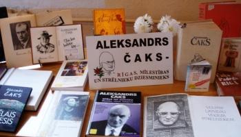 Aleksandra Čaka 118. dzimšanas diena