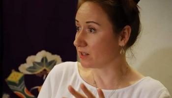 Антонина Безвуляк. Мастер японских чайных церемоний