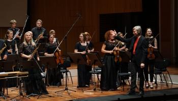 """Valsts kamerorķestra """"Sinfonietta Rīga"""" koncerts Lielajā ģildē"""