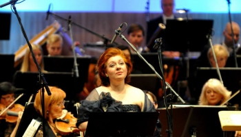 Gustava Mālera Ceturtā simfonija Ingas Kalnas, LNSO un Olari Eltsa lasījumā (2004)