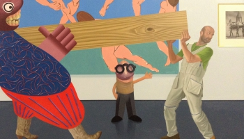 Māksla kā iespēja. Saruna ar Kaido Oli