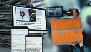 Cilvēks ziņu virsrakstos: aktīviste Meldra Kuzņecova par Marsa parka zaudējumu