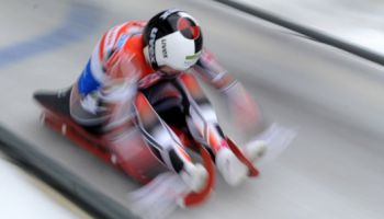 Siguldas trasē jau 24. reizi notika Pasaules kausa posms kamaniņu sportā