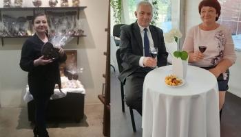 Sazināmies ar uzņēmējiem Imantu un Sandru Medņiem un Raisu Jablonsku