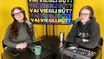 """#23 Kristiāna Grāmatiņa un Rojs Rodžers Linkevičs """"Vai viegli būt?"""""""
