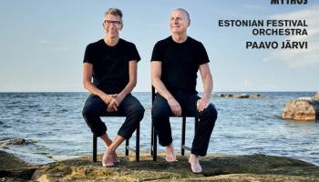 Igaunijas Festivāla orķestris un diriģents Pāvo Jervi Erki Svena Tīra mūzikā