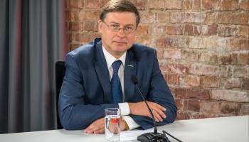 Eiropas Komisijas priekšsēdētājas izpildvietnieks Valdis Dombrovskis