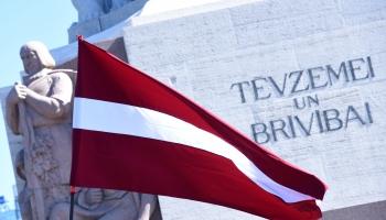 Emocionālais simtgades stāsts - Simtgades karoga ceļš