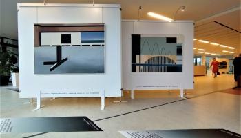 Rēzeknē atklāta mākslinieka Jura Soikana simtgadei veltīta izstāde
