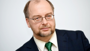 Rīta viesis - Latvijas Brīvo arodbiedrību savienības priekšsēdētājs Egīls Baldzēns