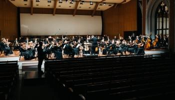 """""""Mālera Piektā un RIX"""". Klavieru kvartets RIX, LNSO un Andris Poga koncertā bez publikas"""