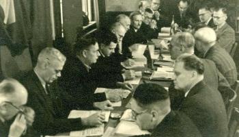 Otrais pasaules karš. 1943.gads. Latvijas Centrālās padomes izveide un darbība