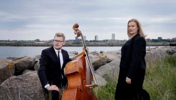 Saruna ar Dānijā mītošajiem latviešu mūziķiem Adriju un Eināru Eversiem