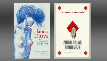 """Tālivalža Margēviča """"Zirgu gaļas pārdevējs"""" un Alesandro Bariko """"Jaunā līgava"""""""