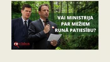 Re:Check: melīgi apgalvojumi mežu politiku; maldi par alkohola akcīzes nodokļa politiku