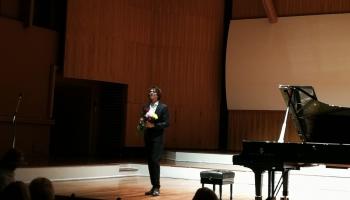 Pianista Likā Debarga koncerts Lielajā ģildē