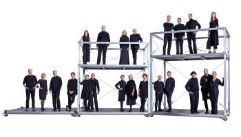 """""""SWR Vokalensemble"""" un diriģents Markuss Krīds koncertā """"Baltikum - Ziemeļu skaņa"""""""