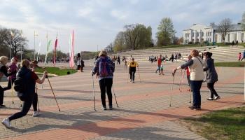 Скандинавская ходьба в Резекне - отличный способ быть в движении и хорошем настроении