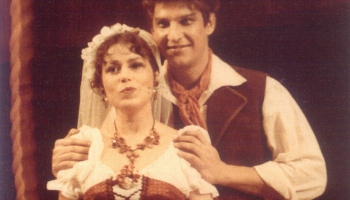 """G. Doniceti opera """"Mīlas dzēriens"""" Latvijas Nacionālajā operā, 1985"""