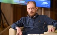 Saruna par visu ko. Politisko procesu komentētājs, žurnālists Māris Zanders.