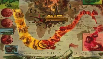 """18. oktobris. Iznāk romāns """"Mobijs Diks jeb Baltais valis"""""""