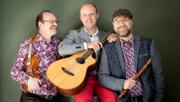 """Crane Dance Trio"" koncerts Zviedrijas Radio studijā Gēteborgā"