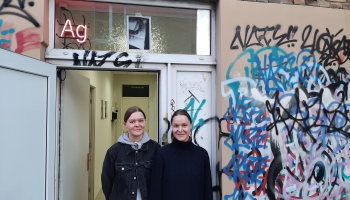 Agnese un Katrīna Čemmes galerijā Ag