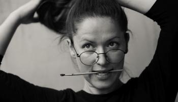 Monopola viešņa mākslas terapeite Inga Bitēna