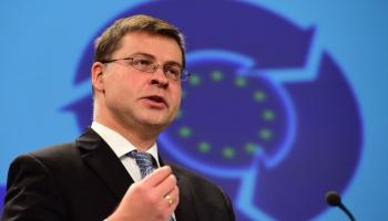 Вице-президент Еврокомиссии Валдис Домбровскис: главное - сохранить потенциал экономики