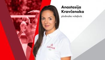 Olimpieša vizītkarte: Anastasija Kravčenoka