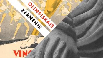 """Izstāde """"Olimpiskais ķermenis"""": par sportu kultūrā un kultūru sporā"""