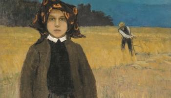 Johans Valters.  Zemnieku meitene. 1904. gads