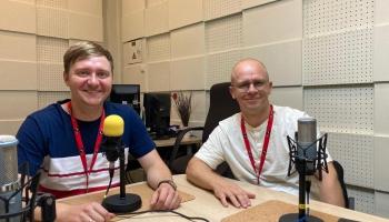 Par 24. Latviešu mūzikas svētkiem Madonā stāsta Oskars Bokanovs un Arvīds Kazlausks