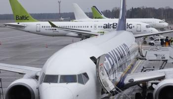 Atjaunos gaisa, jūras, autobusa un dzelzceļa pārvadājumus uz Lietuvu un Igauniju