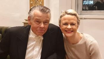 Iveta Apkalna un Mariss Jansons Pulenka Koncertā ērģelēm, stīgām un timpāniem (2019)