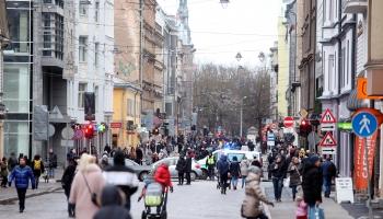 4 января улица Тербатас была отдана пешеходам. Что показал первый опыт?