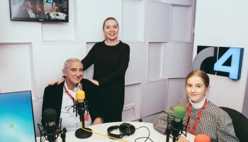 Дни Казиника в Риге: Михаил Казиник в гостях у Латвийского Радио 4
