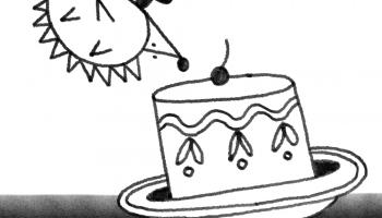 Ezītis un lielākā kūka Visumā