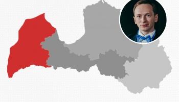 Aktualitātes Kurzemē. Komentē Rietumu Radio pārstāvis Dzintars Hmieļevskis