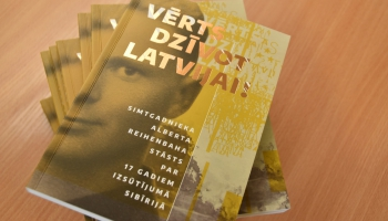 """Alberta Reihenbaha """"Vērts dzīvot Latvijai!"""" un """"Mežģīņu mantojums Latvijā"""""""
