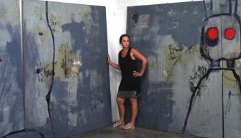 Sigita Daugule. Galvenajā lomā glezniecība