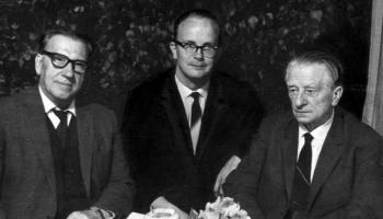 Jāņa Mediņa privātsekretārs. Diriģentam Centim Kriķim - 90 (1930-2017)