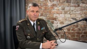 NBS komandieris Leonīds Kalniņš par karavīru vakcināciju un vēlmi vakcinēties
