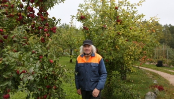 Груши и яблоки – дело жизни Альберта Мендрикиса