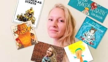 Zelta pogas sabiedrībā bērnu grāmatu autore Luīze Pastore