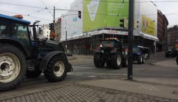 Lauksaimnieku protesti Eiropā