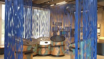 Jaunā Āraišu ezerpils pastāvīgā ekspozīcija papildina dabā redzamo rekontruciju