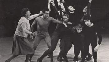 Dailes teātra gadsimts. 6. un 7.studija. Aktieri piedzīvo pārcelšanos uz teātra jauno namu