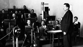 Radiofona orķestris Jāņa Mediņa atmiņās un mūzika Latvijas Radiofonā 30. un 40. gados